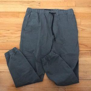 Grey joggers pant